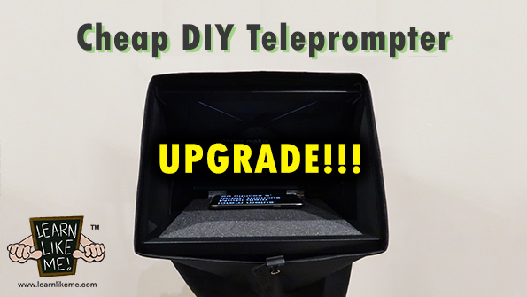 DIY Teleprompter Upgrade Youtube Link