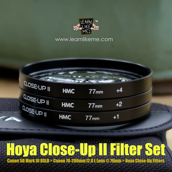 hoya close-up ii filter set image