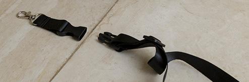 Detachable neck strap