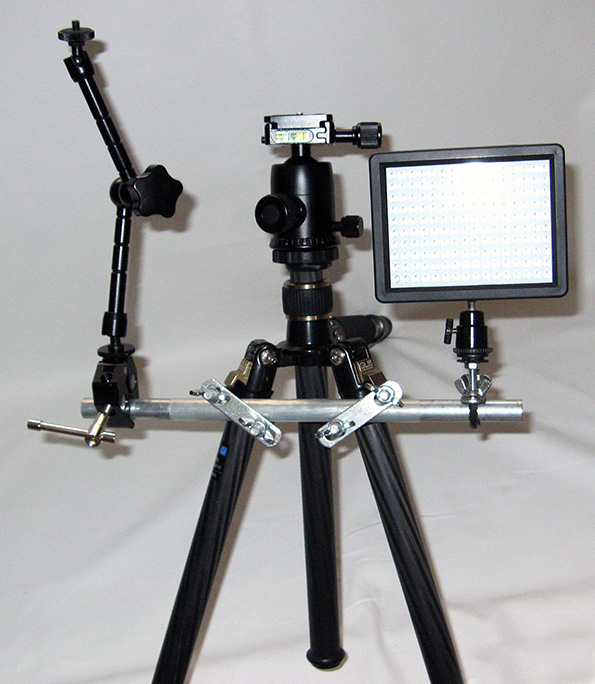 Front of Tripod Shoulder Rig image