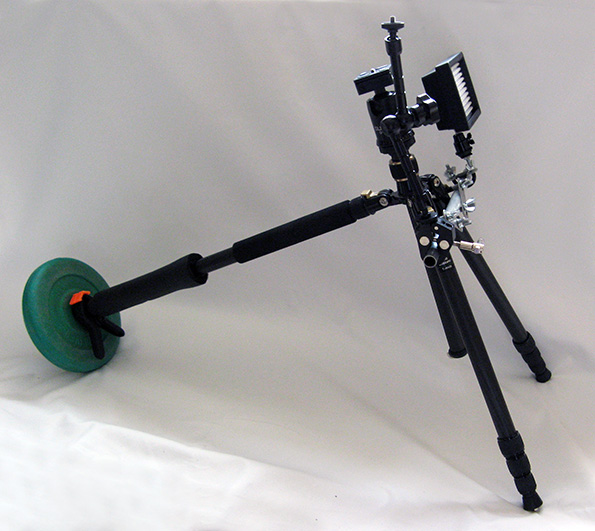 Tripod Shoulder Rig assembled image