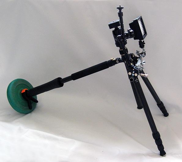 Tripod Shoulder Rig assembled image