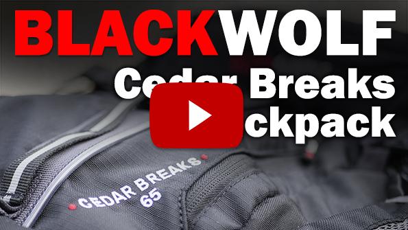 Blackwolf Cedar Breaks Backpack YouTube link